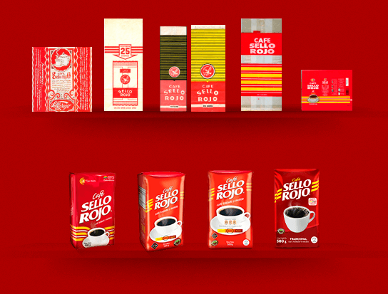 Productos Café Sello Rojo